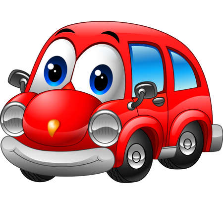 28,049 Red Car Stock Vector Illustration And Royalty Free Red Car ...