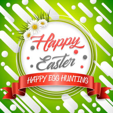 Easter eggs background.