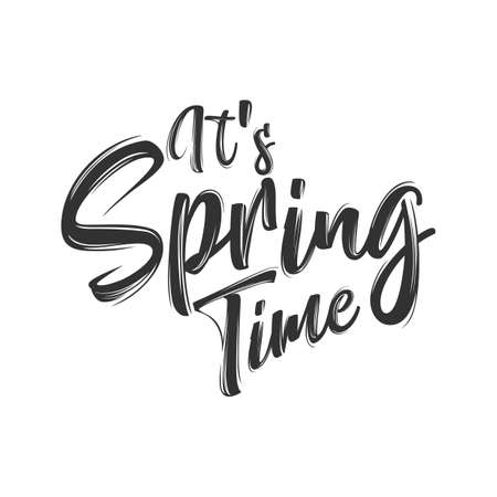Its spring time hand Lettering