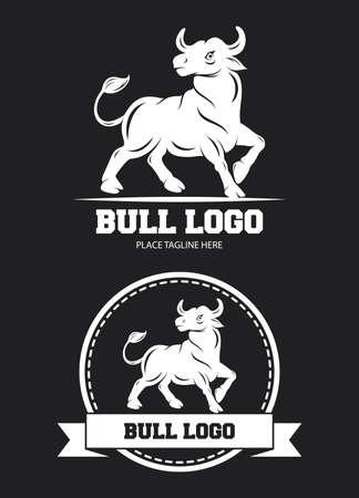 Bull icon design template