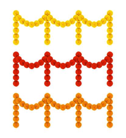 Vector illustration of Happy pongal with Flower garland decoration toran Illustration