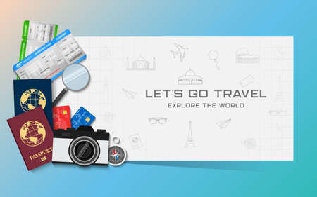 Travel and vacations concept
