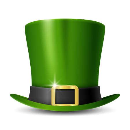 Patricks Day leprechauns green hat