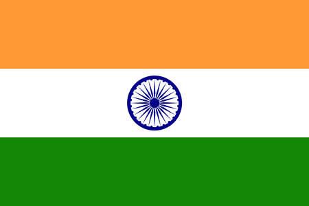 bandera de la india: India Foto de archivo