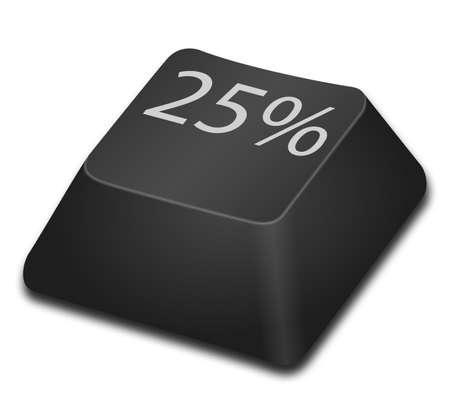 25 percent photo