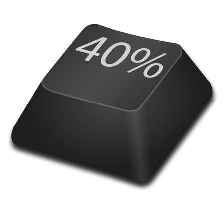 40: 40 percent