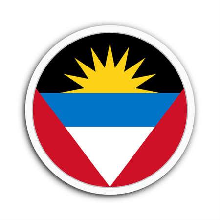 antigua flag: Antigua and Barbuda Stock Photo