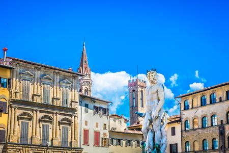 signoria square: Piazza dei Signoria, view at square, Florence Italy.