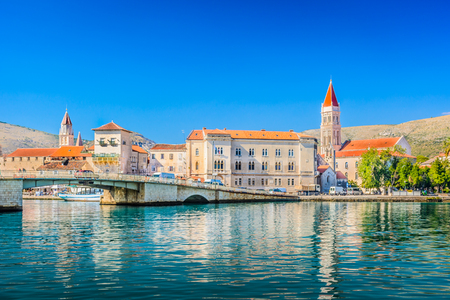 lawrence: View at coastal town Trogir, Croatia Europe.