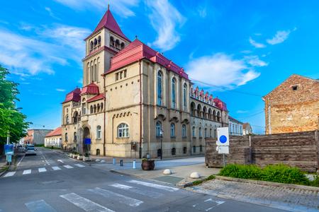 Scenic view at Croatian Lodge in Northern Croatia, Krizevci town.