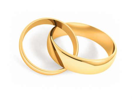 Bagues de mariage Banque d'images - 32855484