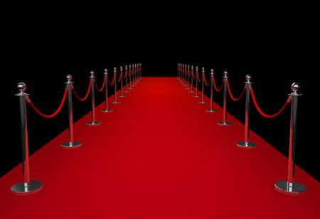 Red carpet Foto de archivo