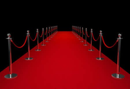 Red carpet Фото со стока