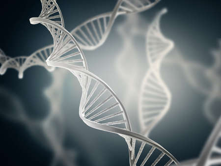 Illustration of deoxyribonucleic acid structure (DNA)
