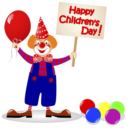 National Children Vector