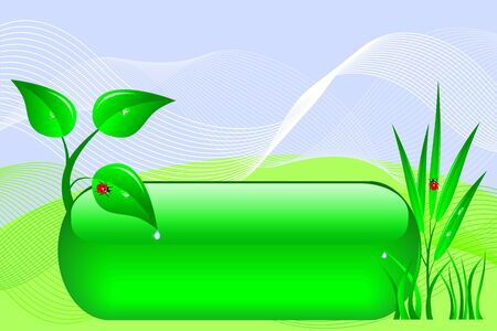 eco design banner. Vector