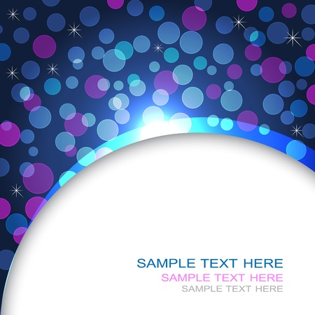10eps: Abstract background with transparent circles. 10eps vector. Illustration