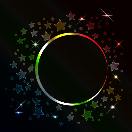 lucero: Resumen de fondo con la bandera de estrellas. Vectores