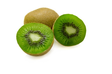Kiwi isolated on white background. photo