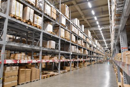 Large-scale logistics warehouse