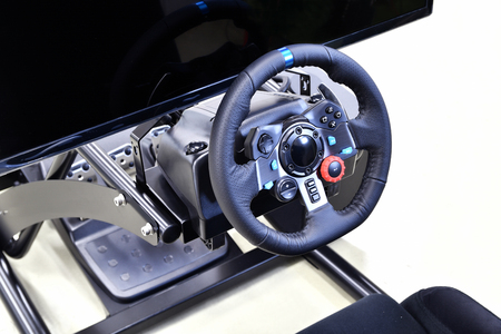 drivers seat: Machine of the driving simulation game