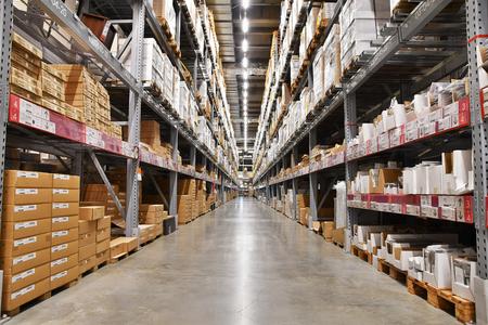 Large logistics warehouse Redactioneel