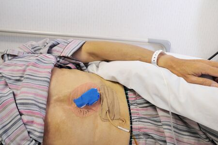 belly bandage: Hospitalized patients