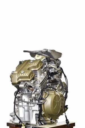 v cycle: Improvement in motor-cycle engine
