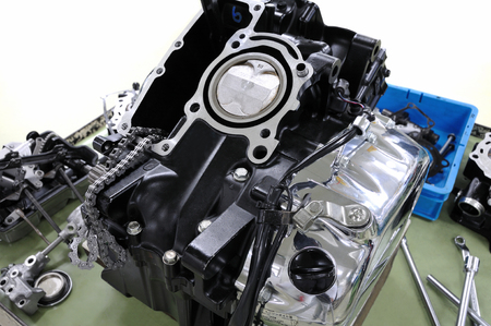 v cycle: Improvement of motorcycle engine