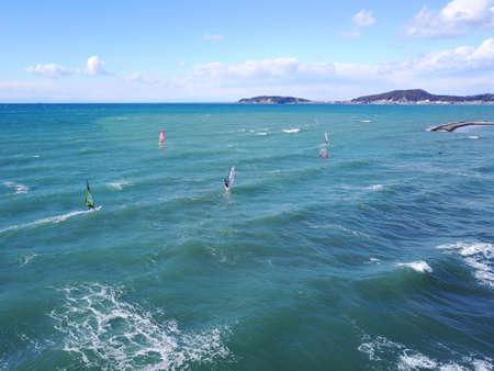 Tateyama windsurfers