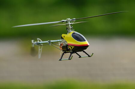 rc: RC model helicopter Stock Photo