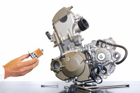 Improvement of motorcycle engine