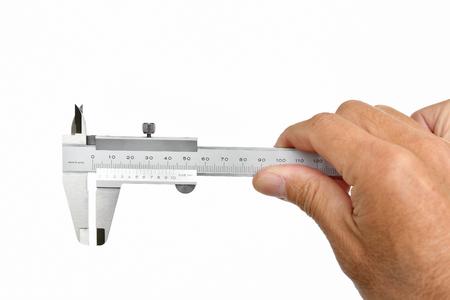 Vernier calipers Stock Photo