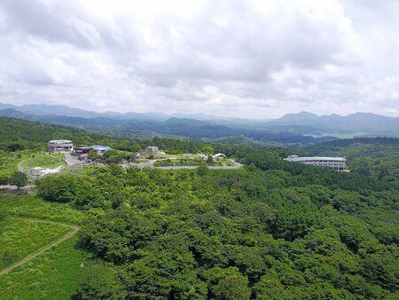 Autumn akiyoshidai quasi-National Park 版權商用圖片