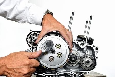 오토바이 엔진의 개선 스톡 콘텐츠