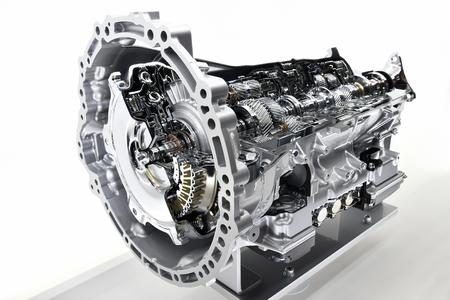 Modello cut-away della trasmissione automatica