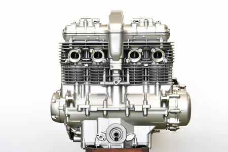 Large motorcycle engines