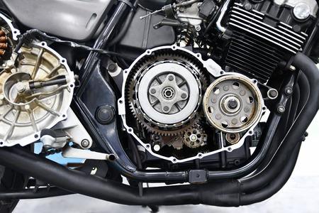 Clutch repair of large motorcycle