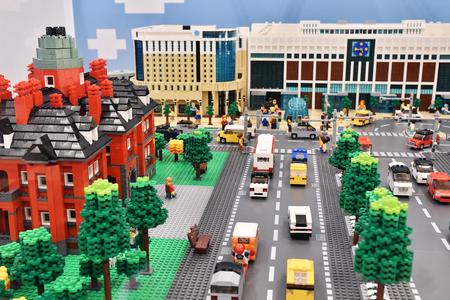 Lego Stadt Editorial