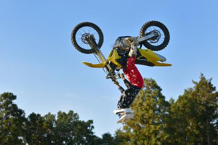 Freestyle Motocross 写真素材 - 112291235
