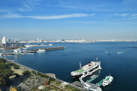 The view from the Yokohama Marine Tower
