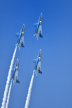 Acrobatic flight 写真素材 - 113981177