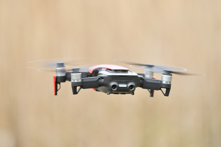 Sky imaging of small drones
