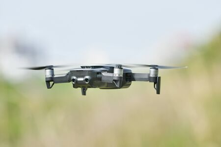 Small drone in the air 写真素材