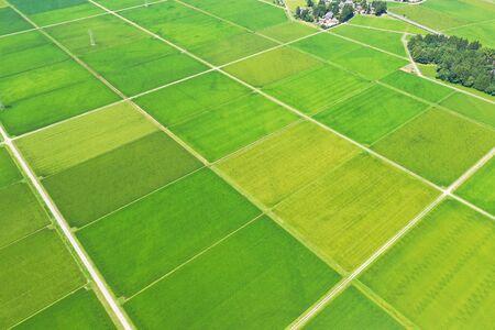 Rural Landscape in Niigata Prefecture 写真素材