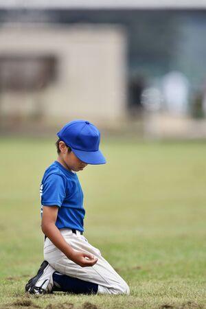 Boys baseball boys 写真素材