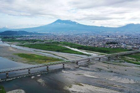 Fuji and Mt Fuji Zdjęcie Seryjne