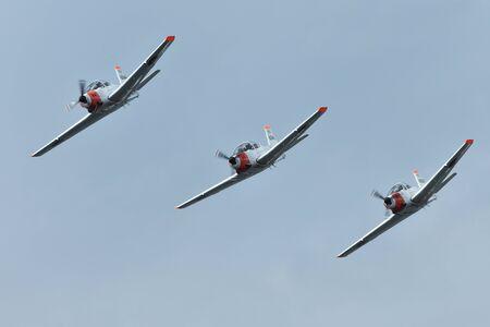 Maritime Self-Defense Force Acrobatic Team 写真素材