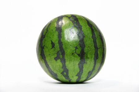 White background watermelon