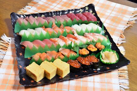 Take-out sushi for parties